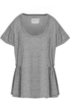 CURRENT/ELLIOTT Jersey peplum T-shirt