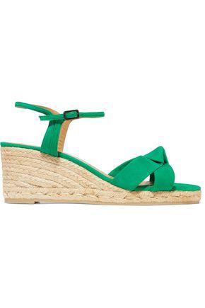 CASTAÑER Becca suede espadrille wedge sandals