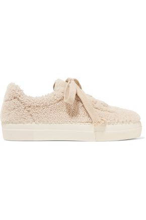 HELMUT LANG Shearling sneakers