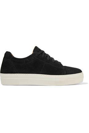 HELMUT LANG Suede platform sneakers