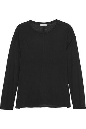 VINCE. Modal-blend jersey top