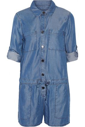 ENZA COSTA Denim playsuit