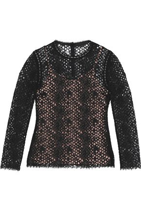 ALEXANDER WANG Corded lace top