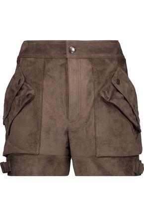 HELMUT LANG Suede shorts
