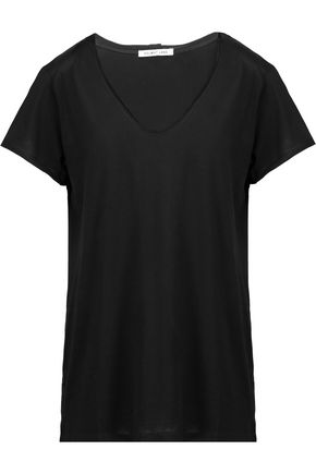 HELMUT LANG Cotton and cashmere-blend jersey T-shirt