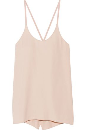 HELMUT LANG Open-back twill camisole