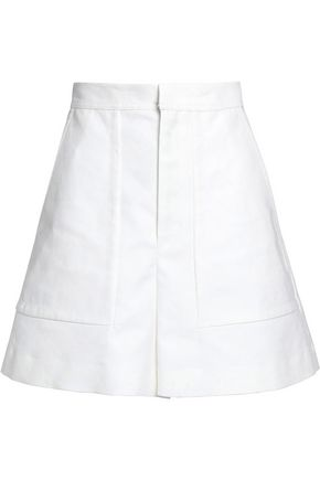ISABEL MARANT Satia cotton and linen-blend shorts