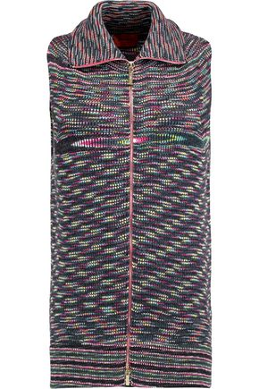 MISSONI Ribbed-knit wool vest