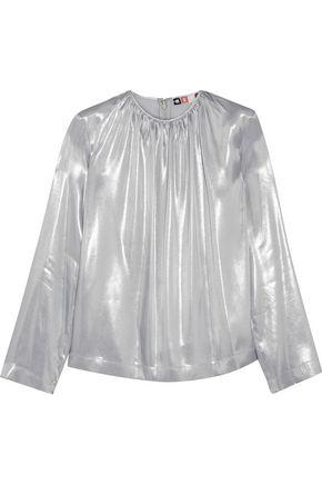 MSGM Lamé blouse