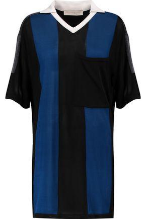STELLA McCARTNEY Paneled jersey top