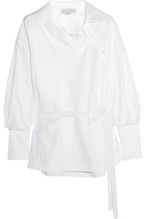 STELLA McCARTNEY Caterina cotton-twill shirt