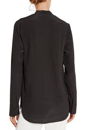 5f24772b352c2 ... STELLA McCARTNEY Arlo embroidered silk crepe de chine shirt
