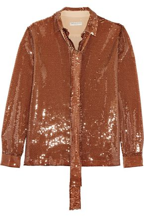EMILIO PUCCI Sequined silk shirt