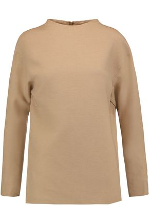 VALENTINO Wool and silk-blend top