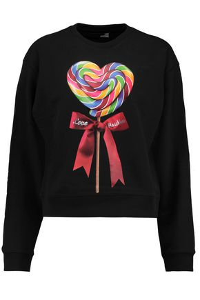 LOVE MOSCHINO Printed cotton sweatshirt