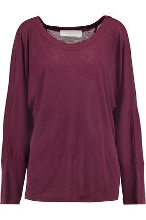 IRO.JEANS Cutout modal-blend T-shirt