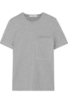 TIBI Slub cotton T-shirt