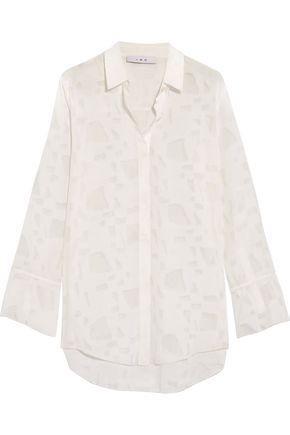 IRO Fil-coupé chiffon shirt