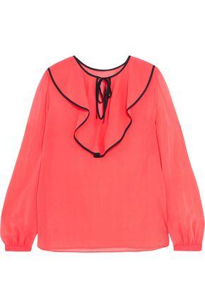 REDValentino Silk-blend georgette blouse