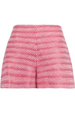 ALEXIS Nelly woven cotton-blend shorts