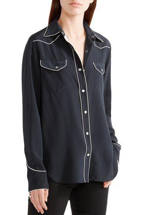 RAG & BONE Jesse silk crepe de chine shirt