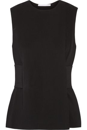 ALEXANDER WANG Belted crepe top