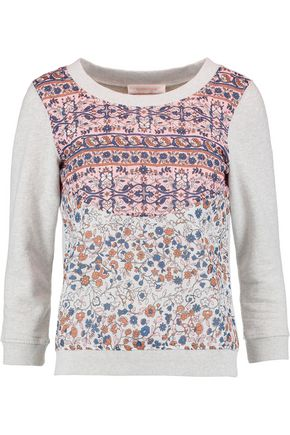 SEE BY CHLOÉ Printed cotton-jersey sweater