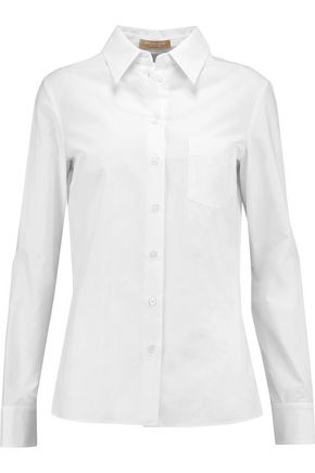 MICHAEL KORS COLLECTION Cotton-poplin shirt