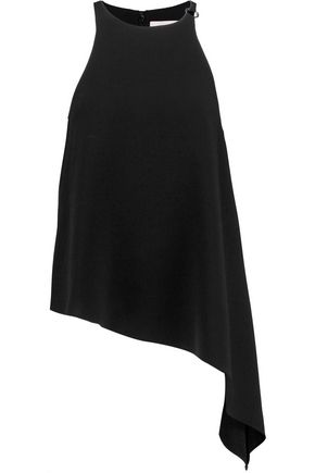 CINQ À SEPT Myra asymmetric crepe top