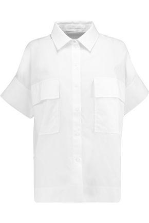 VICTORIA, VICTORIA BECKHAM Safari cotton-poplin shirt