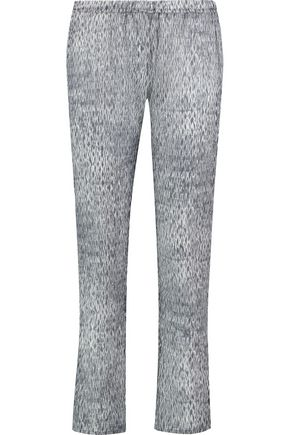 EBERJEY Nirvana Jasper printed cotton pants