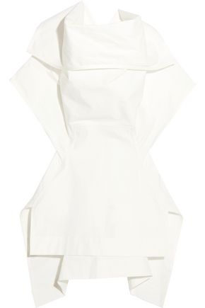 RICK OWENS Judith stretch-cotton poplin top