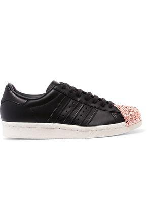ADIDAS ORIGINALS Superstar embellished leather sneakers