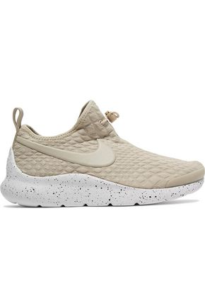 NIKE Aptare toggle-detailed textured-knit sneakers