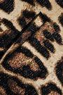 REDValentino Leopard-jacquard shorts