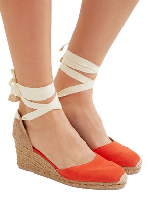 c3de3530bb9 Carina canvas wedge espadrilles | CASTAÑER | Sale up to 70% off ...