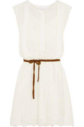 ZIMMERMANN Caravan crocheted cotton-blend dress