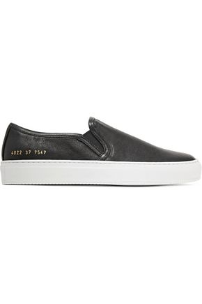 WOMAN by COMMON PROJECTS Tournament leather slip-on sneakers