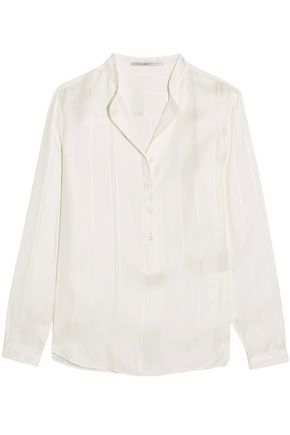STELLA McCARTNEY Eva embroidered silk blouse