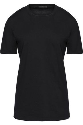 AGNONA Cotton-jersey T-shirt