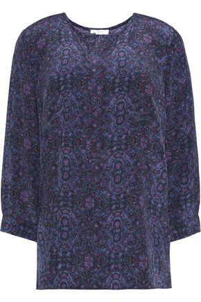 JOIE Printed silk top
