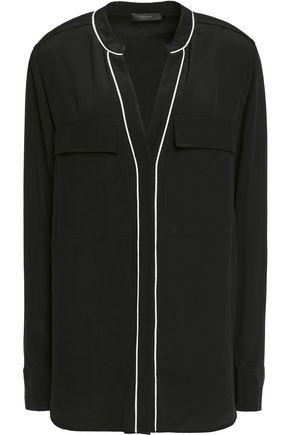 BELSTAFF Milton silk-crepe shirt