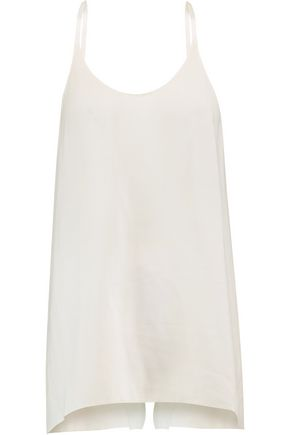 HELMUT LANG Tie-back faille top