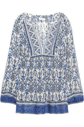 JOIE Jaya printed silk-chiffon blouse