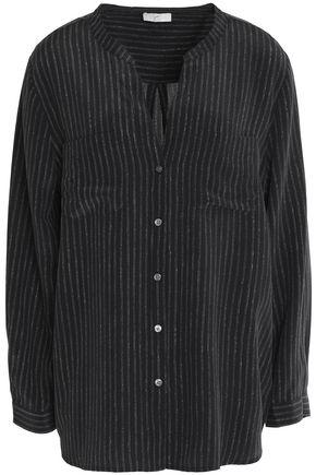 JOIE Luma printed silk crepe de chine blouse
