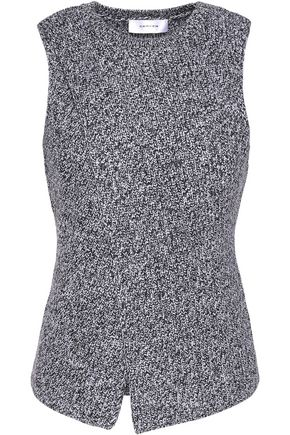 CARVEN Split-front ribbed wool sweater