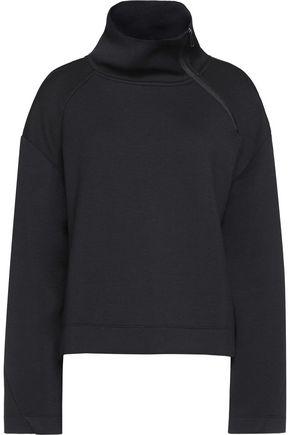 DKNY Scuba-jersey turtleneck sweatshirt