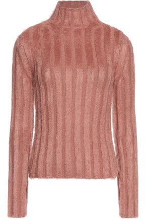 NINA RICCI Ribbed wool-blend sweater