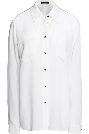 KATE MOSS EQUIPMENT Silk-chiffon blouse