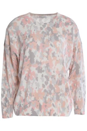 EQUIPMENT Melanie intarsia-knit cashmere sweater